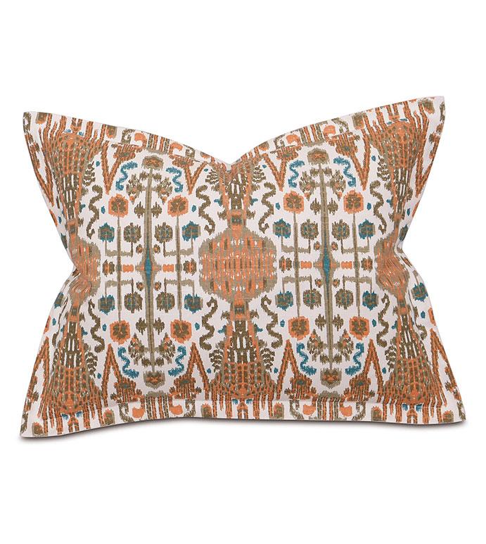 Brayden Sand Standard Sham - pillow,standard sham,printed pillow,rectangle pillow,throw pillow,accent pillow,deorative pillow,feather pillow,southwest pillow,feather pillow,zipper closure pillow, zip pillow