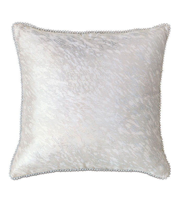 Vionnet Platinum With Beaded Trim - ,