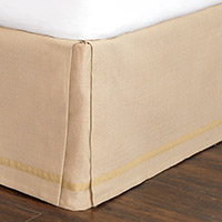 Walden Tan Bed Skirt