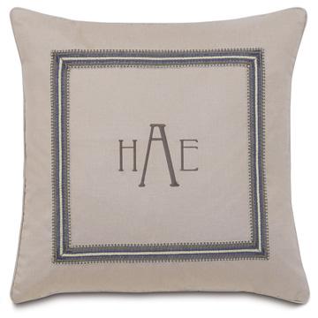 Mack Heather With 3-Letter Monogram