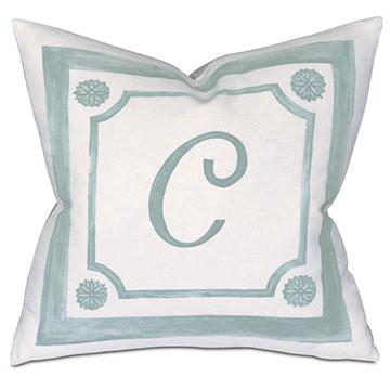Stockholm Monogram Decorative Pillow