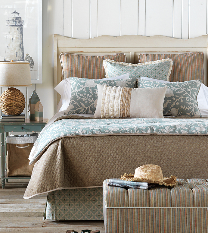 Avila Collection Eastern Accents, Earth Tone Bedding Collections