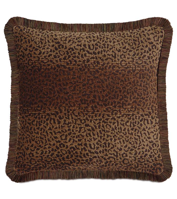 Congo Brown & Spice Pillow A - ,