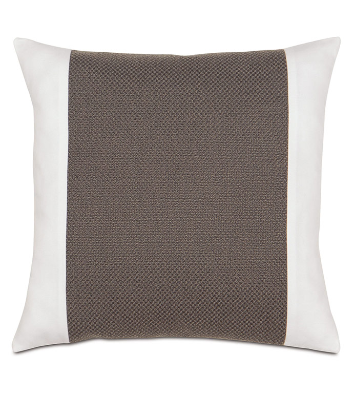 Crosby Charcoal Insert Pillow - ,