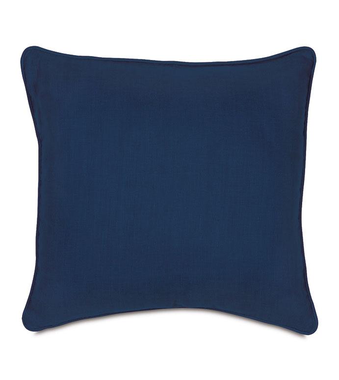 Resort Indigo Accent Pillow - ,