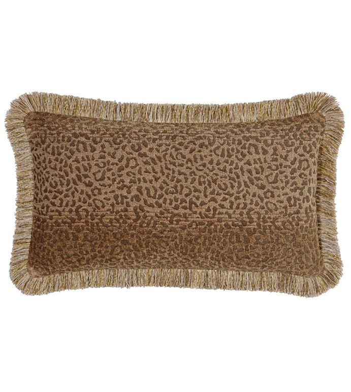 Congo Gold & Brown Pillow B - ,