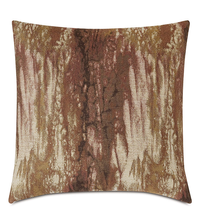 Fossil Marbled Decorative Pillow