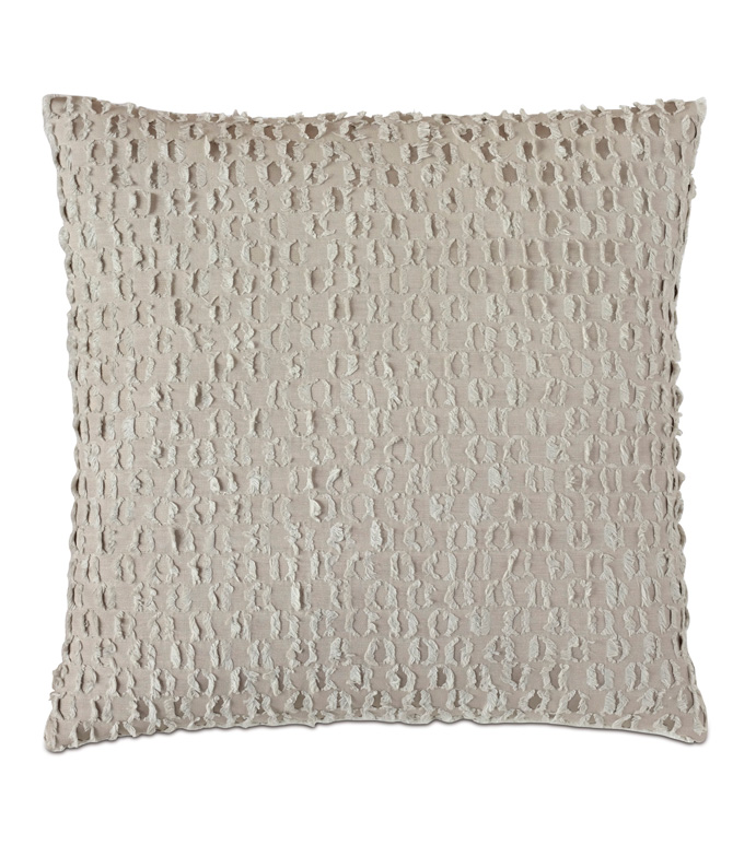 Evangeline Textured Accent Pillow In Taupe - ACCENT PILLOW,THROW PILLOW,ACCENT PILLOW,NICHE BY EASTERN ACCENTS,TAUPE,CONTEMPORARY,LINEN,SOLID,KNIFE EDGE FINISHING,TEXTURED,