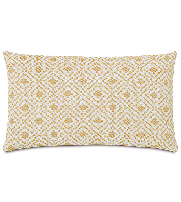 Cyrus Straw Accent Pillow - ,