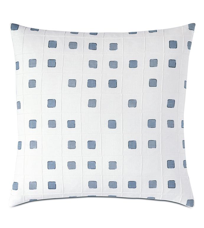 Persea Pintuck Decorative Pillow