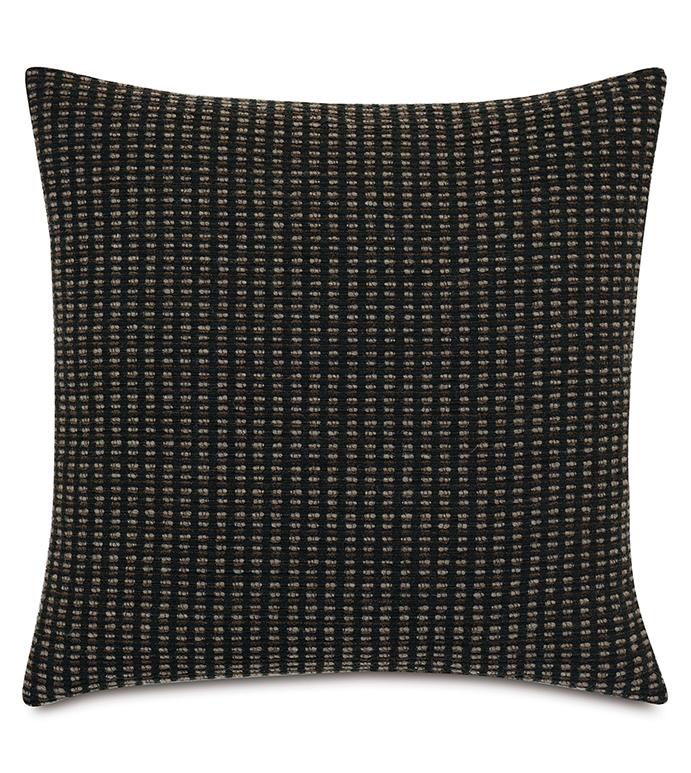 Teton Decorative Pillow In Black