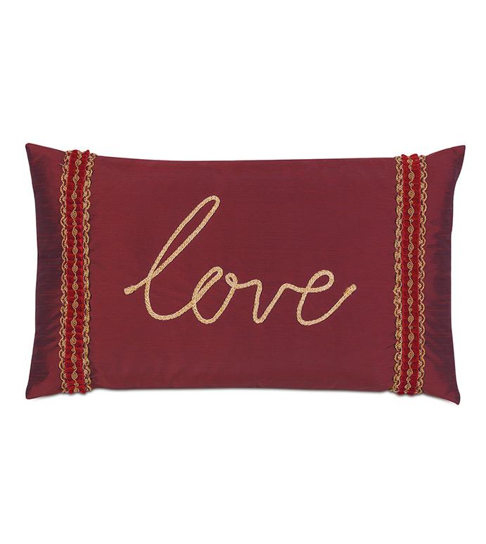 Noel Love Decorative Pillow - ,