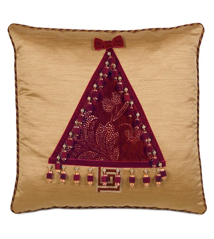 Noel Tree Decorative Pillow - ,