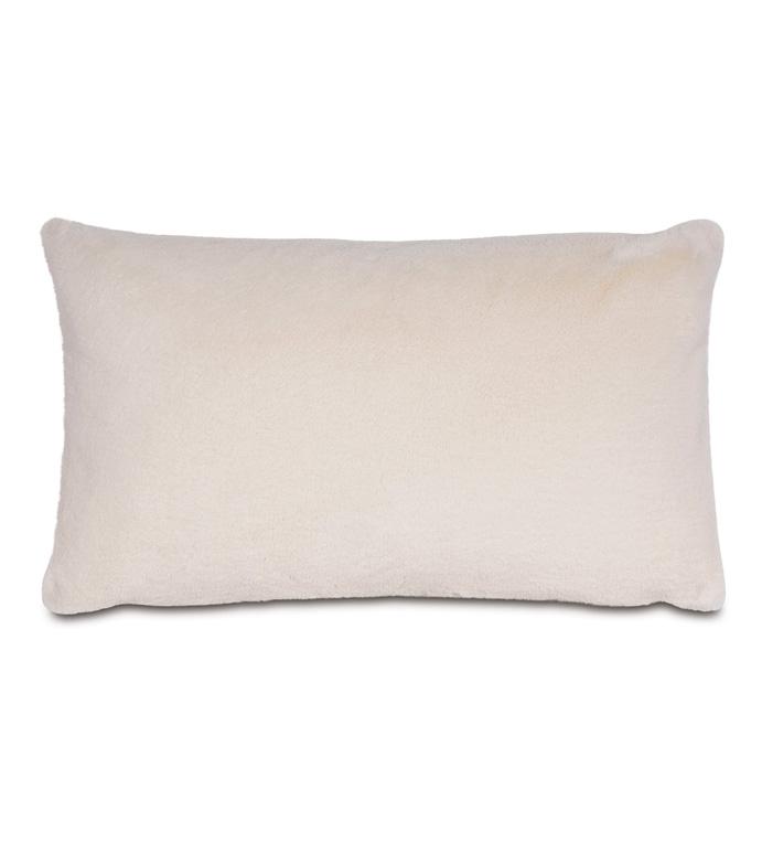 Fur Ivory Pillow - ,