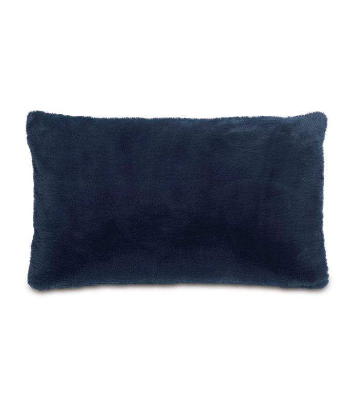 Fur Navy Pillow - ,