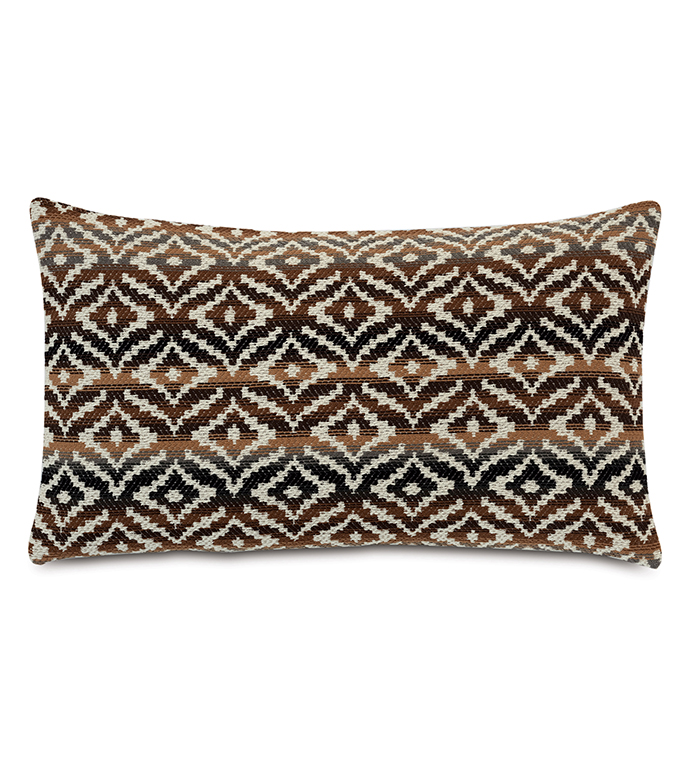 Hancock Decorative Pillow In Brown