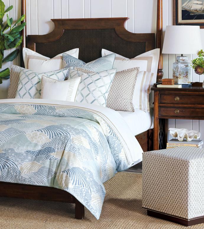 Brentwood Bedset - BARCLAY BUTERA,DESIGNER,COASTAL,NAUTICAL,TROPICAL,SPA,LUXURY BEDDING,BEDDING,FINE LINENS,BED SET,BEDDING COLLECTION,BEDDING ENSEMBLE