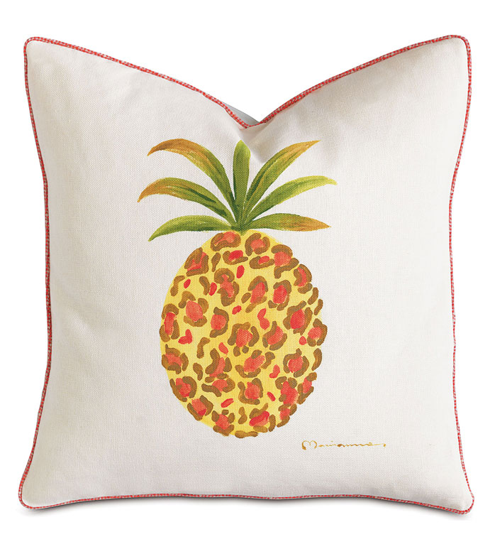 Pineapple Hand-Painted - ,