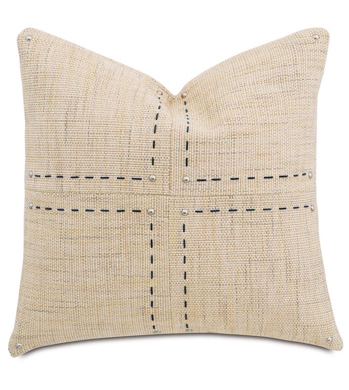 Gilmer Brulee With Hand Stitch - ,