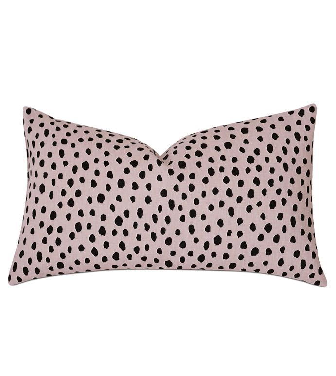 Spectator Speckled Decorative Pillow - ,