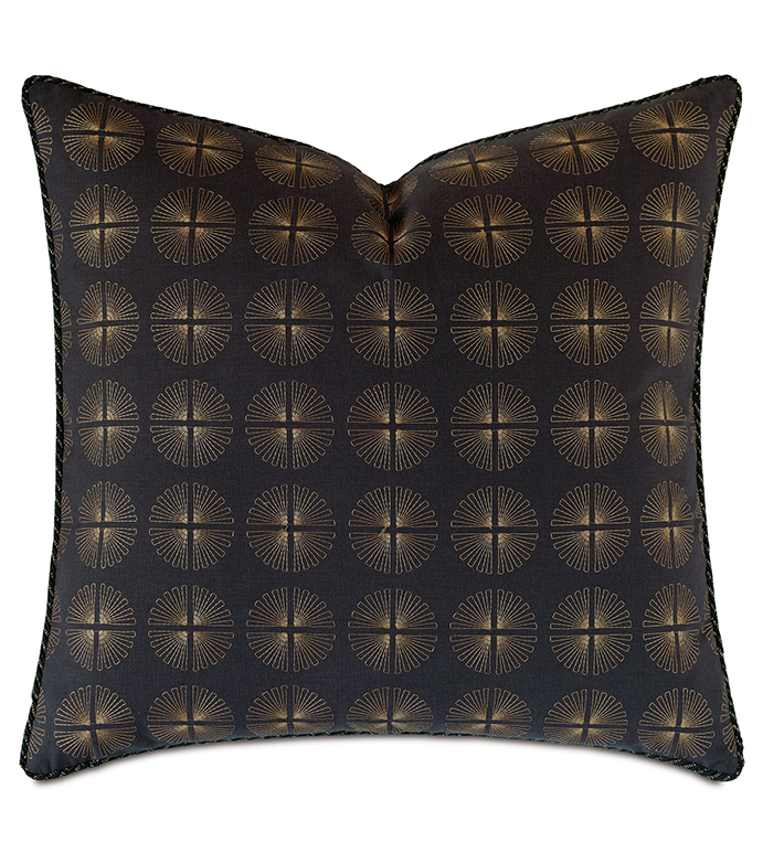 Park Avenue Embroidered Decorative Pillow