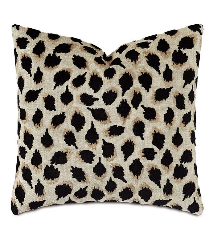 Park Avenue Animal Print Decorative Pillow