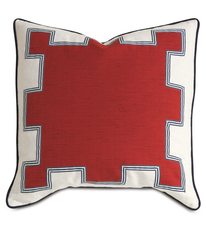 Kanzan Crimson With Graphic Design - ,