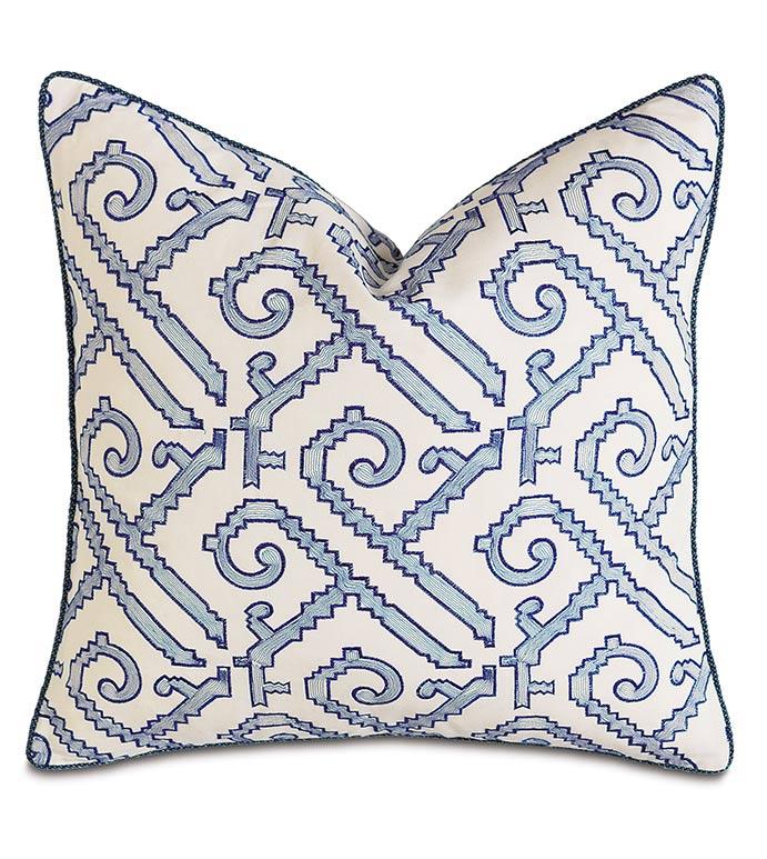 Indigo Decorative Pillow - ,