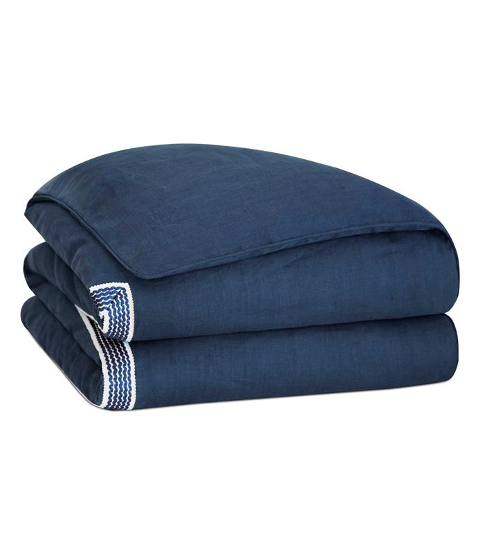 Newport Linen Duvet Cover - ,