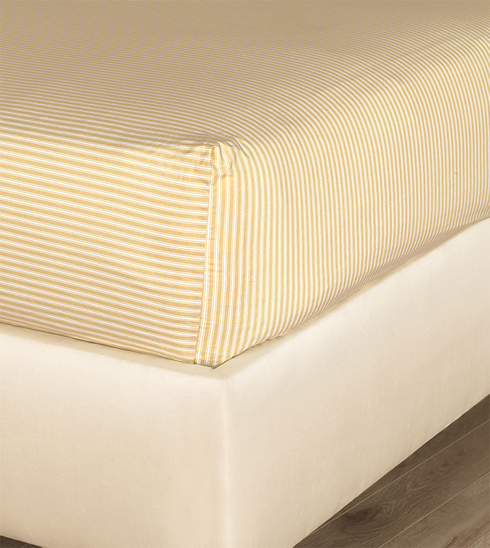 Newman Bisque Fitted Sheet - HAMPTON