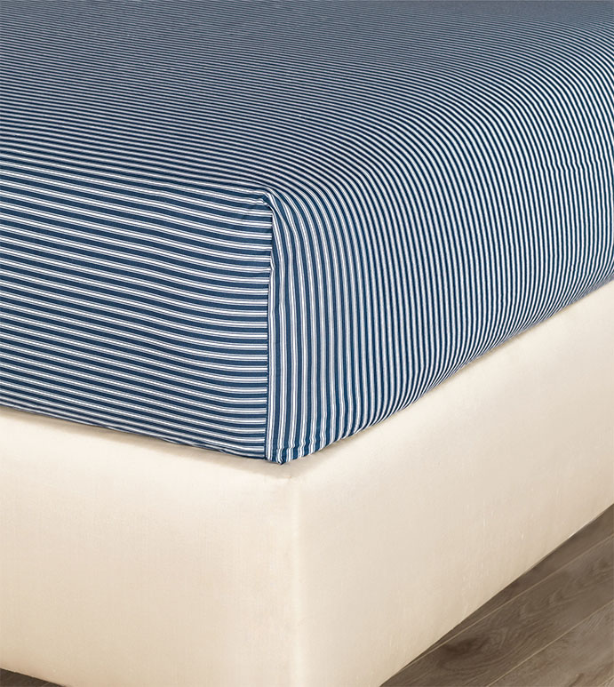 Newman Ink Fitted Sheet - HAMPTON