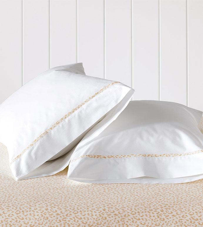 Tanner Sand Pillowcase - HAMPTON