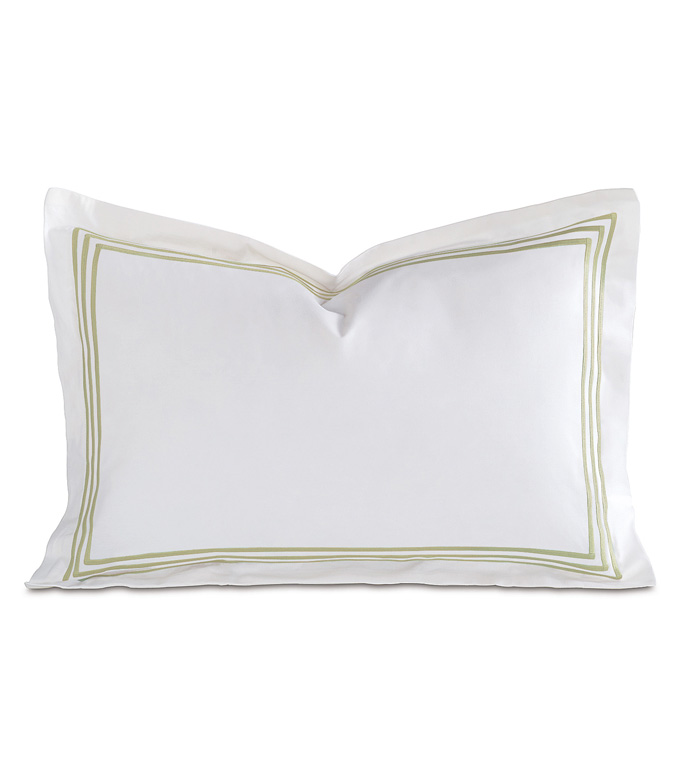 Tessa White/Pear Boudoir Sham - ,