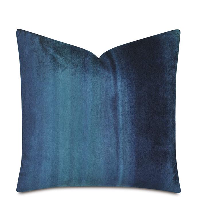 Ombre Peacock Decorative Pillow - ,