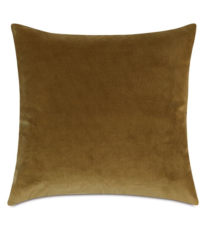 Plush Velvet Decorative Pillow In Citrine - VELVET,YELLOW VELVET,VELVET PILLOW,DECORATIVE PILLOW,THROW PILLOW,ACCENT PILLOW,YELLOW VELVET THROW PILLOW,100% COTTON VELVET, DRY VELVET,YELLOW 100% COTTON VELVET,PILLOW,GREEN,