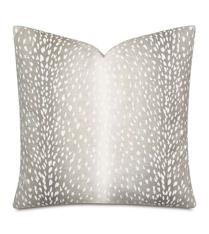 Wiley Ombre Decorative Pillow In Gray