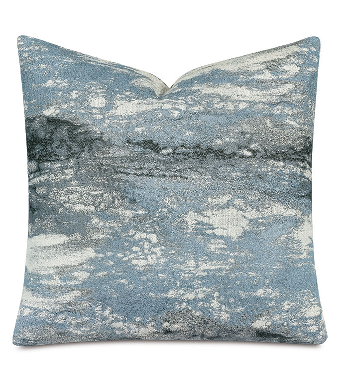 Fossil Decorative Pillow In Azure
