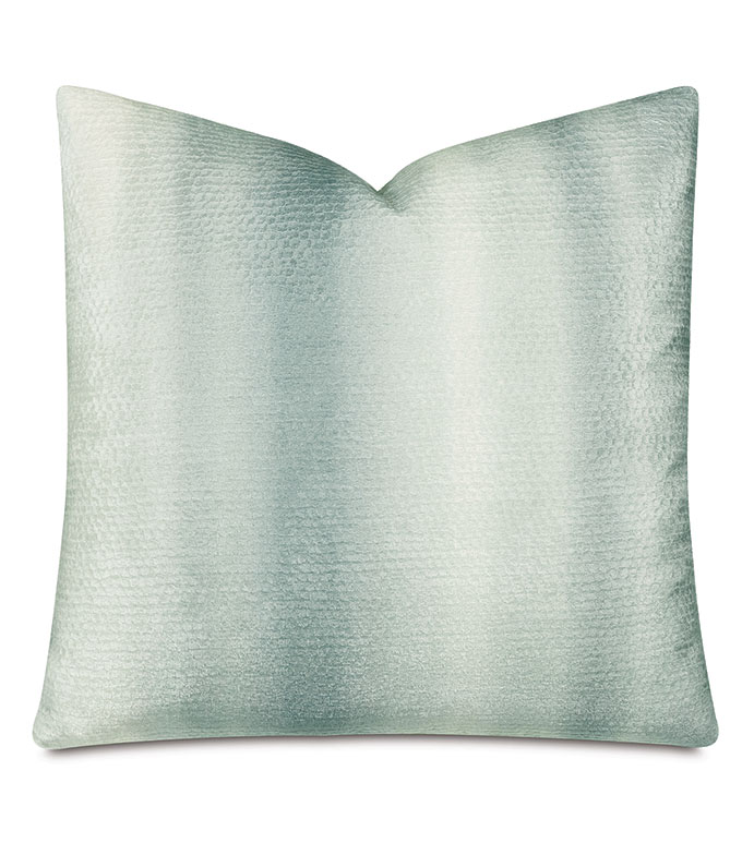 Dunning Ombre Decorative Pillow - OMBRE,GRAY,NEUTRAL,PILLOW,DECORATIVE PILLOW,ACCENT PILLOW,THROW PILLOW,SCALY,SCALES,TEXTURED,TEXTURE,COZY,HYGGE,22X22,SQUARE,GRAY OMBRE PILLOW,OMBRE PILLOW,MADE IN USA,LUXURY,