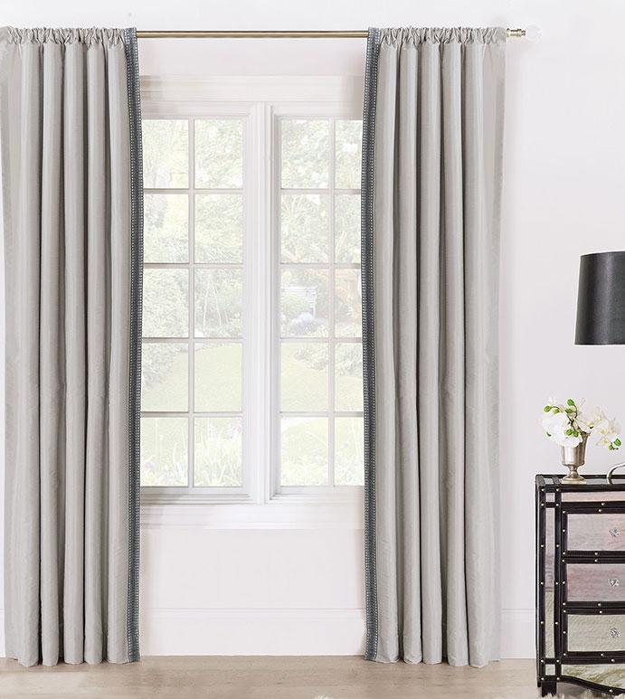 Edris Fog Curtain Panel Left
