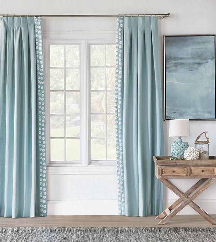 Bimini Graphic Curtain Panel Left