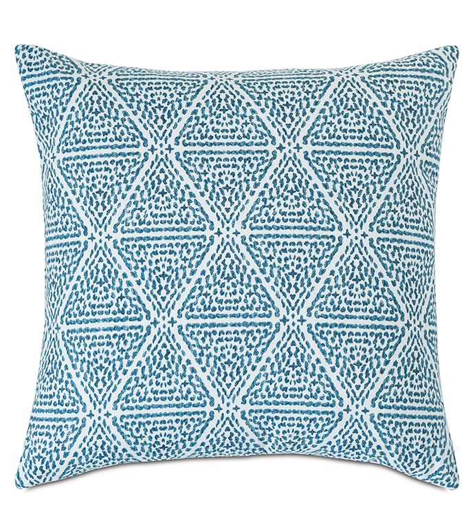 Clementine Geometric Decorative Pillow