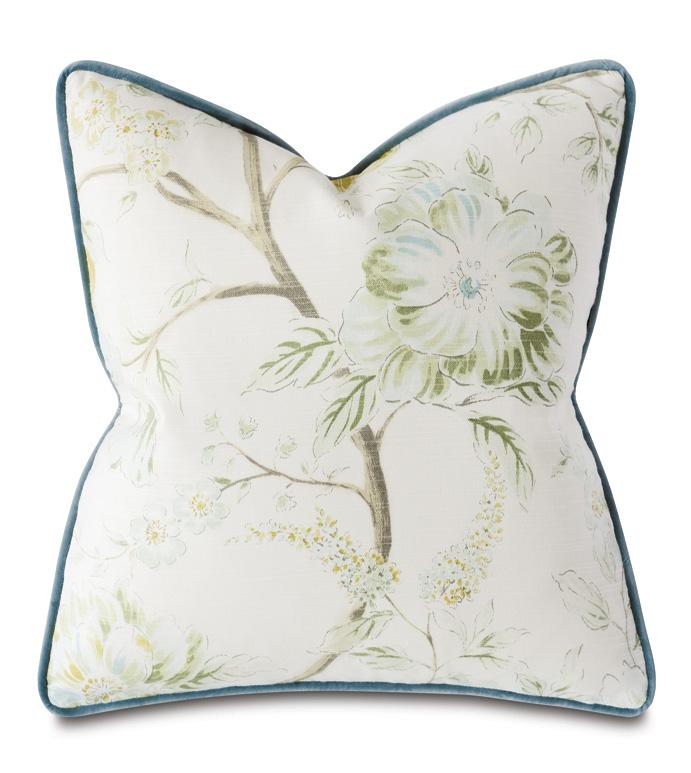 Stockholm Floral Decorative Pillow