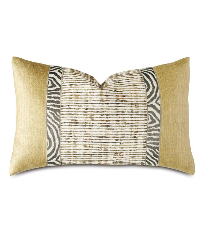 Tanzania Silk Decorative Pillow