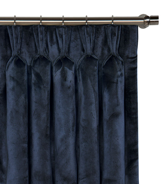 Nellis Azure Curtain Panel - ,