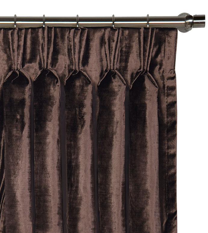 Winchester Chestnut Curtain Panel - ,