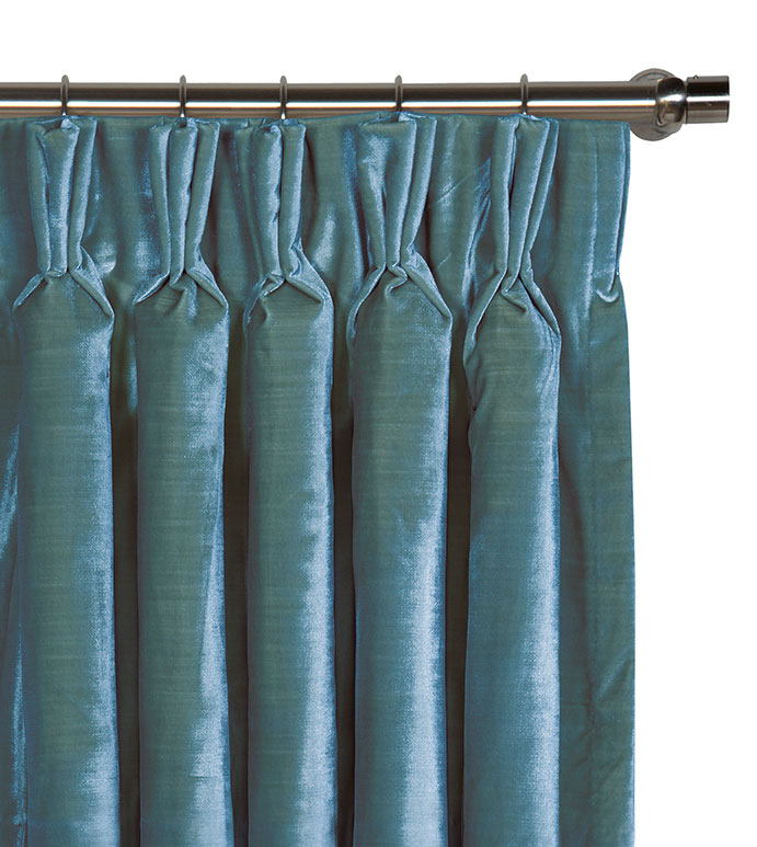 Winchester Peacock Curtain Panel - ,
