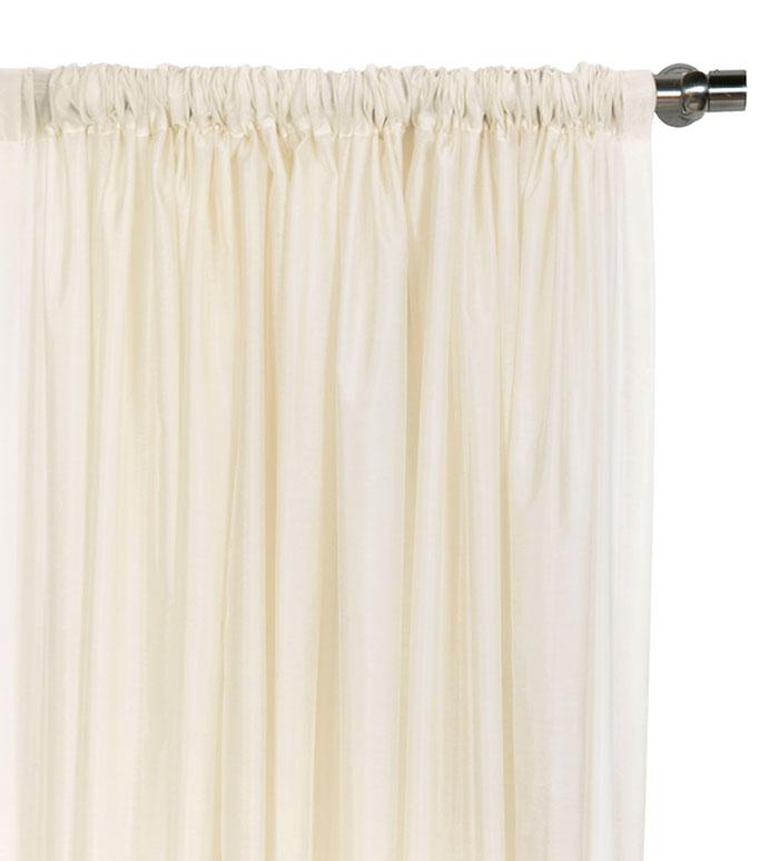 Ambiance Creme Curtain Panel - ,