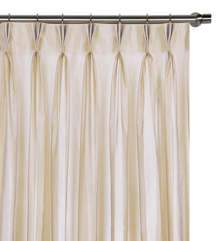 Ambiance Almond Curtain Panel - ,