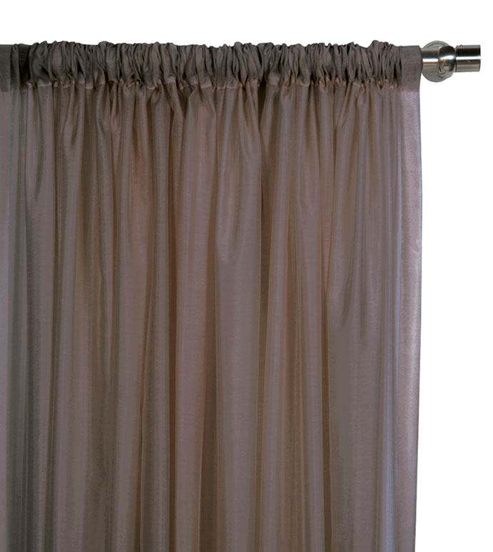 Ambiance Cocoa Curtain Panel - ,