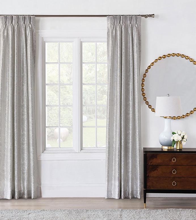 Vionnet Platinum Curtain Panel